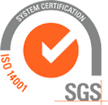 We are ISO 14001 certified