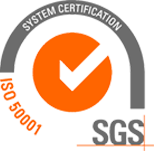 We are ISO 50001 certified