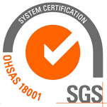 We are OHSAS 18001 certified